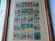 JACK  DEMPSEY vs  GENE  TUNNEY 1927  ORIGINAL 20  STAMP TRANSFER SHEET  BOXING