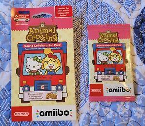 Animal Crossing Sanrio Collaboration Amiibo Cards 6 Pack