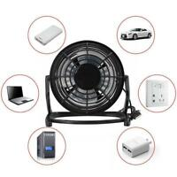 Notebook Laptop Computer Portable Super Mute PC USB Cooler Desk Mini Fan NEW UP
