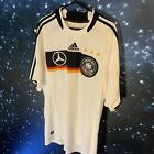 Germany adidas 2008 Large good condition Mercedes-Benz White