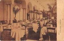 Sevilla Spain Hotel Paris Dining Room Antique Postcard J50879