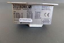 Deutronic Spannungswandler Converter  verschiedene Typen // 12 oder 24 VDC