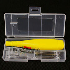 Lighted Tonsil Stone Tonsillolith Removing Tool Pick + 3 Tips+ Case Oral Cleaner