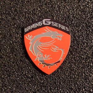 MSI Gaming G Series Label / Aufkleber / Sticker / Logo 33 x 27mm [441d]