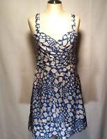 Marc by Marc Jacobs Blue Gray Jumper Dress Women's Size 4