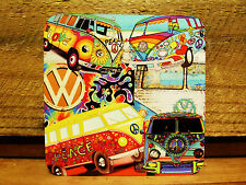 SET OF FOUR COASTERS - KOMBI KOLLAGE....