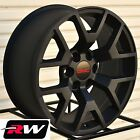 "2014 2015 GMC Sierra 1500 Wheels GMC Yukon 1500 Satin Black Rims 20"" inch 20x9"""