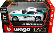 BMW Z4 M COUPE 1:43 Toy Racing Car NEW Model Diecast Models Die Cast Metal White