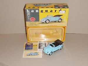 Vanguards VA2001. Volkswagen Cabriolet in Pale Blue