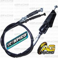 Apico Black Clutch Cable For Yamaha YZ 80 1993-2001 YZ 85 2002-2019 Motocross