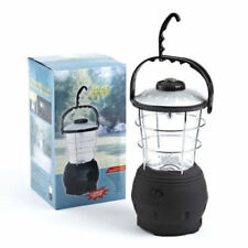 12 LED WIND UP DYNAMO CAMPING LANTERN LIGHT TORCH OUTDOOR HIKING FESTIVAL
