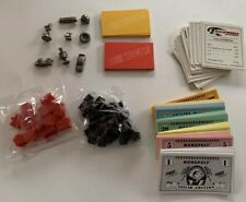1997 Nascar Edition Monopoly Hasbro Inc. Money, Cards, Pewter Tokens, Houses etc