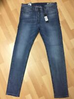 Mens Diesel SLEENKER STRETCH Denim 084QL BLUE Slim W32 L30 H6 RRP£150