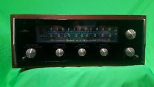 McIntosh MR74 Vintage AM/FM Stereo Tuner  Walnut Cabinet Panlocs