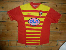 + RC LENS Shirt + XL + Home Football Jersey 2000 + CAMISETA maillot maglla trikot