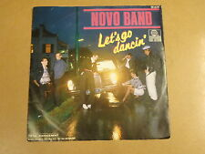 45T SINGLE WITH MERCEDES CAR COVER / NOVO BAND - LET'S GO DANCIN'