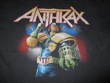 "Hanes Anthrax ""I Am The Law"" (Med) T-Shirt Scott Ian Joey Belladonna Scott Bello"