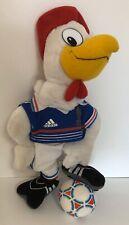 Rare 1998 Adidas FIFA World Cup Champions France Official Plush FFF Mascot