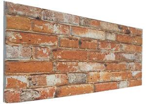3D Brick Wall Panels Polystyrene Brick Effect Cladding Brick Wall Covering Panel
