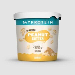 NDD - MyProtein Crunchy All Natural Peanut Butter - 1Kg