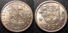 Portugal - République - 2 1/2 escudos 1964 SUP ! KM#590
