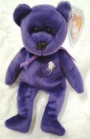 1997 TY Beanie Baby PRINCESS (Diana) ~~ RETIRED RARE ~~ NEW with Original Tag