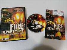 FIRE DEPARTMENT DIRIGE BRIGADA BOMBEROS MONTE CRISTO - JUEGO PC CD-ROM ESPAÑOL