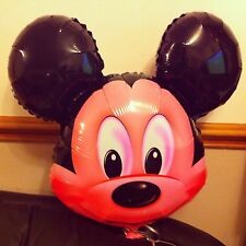 5 X Mickey mouse Helium Inflatable balloons for Kids birthday party decoration