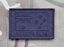 Covert Black Australian Flag Patch Special Forces Afghanistan SASR SOTG