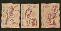 VATICAN :1976 Air set SG 651-3 unmounted mint