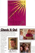 Buffy Season 3 Trading Card Sunnydale High Fold Card Y3