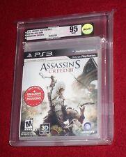 Assassin's Creed III, New Sealed!  PS3 VGA 95