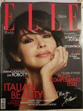 ELLE RIVISTA N. 42 Italy MAGAZINE 9 NOVEMBRE 2019 MODA Monica Bellucci Beauty IT