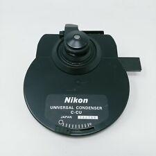 Nikon Microscope Universal Condenser C Cu Dry 09 Swingout 7 Position