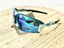 Polarized Oakley Field Jacket Sunglasses Balsam Prizm Sapphire Iridium Blue New