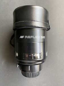 MINOLTA AF REFLEX 500mm F8 For MINOLTA Mirror Lens JAPAN