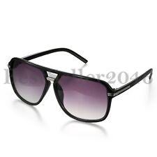 Herren Damen Klassische Große Quadratische Sonnenbrille Aviator Outdoor Brillen