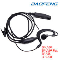Earpiece Headset MIC PTT For Baofeng UV-9R Plus BF-A58 BF-9700 Two-way