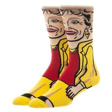 Blanche GOLDEN GIRLS 360 Character Crew Socks All Around Adult 1 Pair Blanch