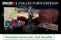 PreSale Just Benefits Resident evil Biohazard Re:3 PS4 Collectors Edition