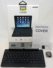 NEW Zagg Cover iPad Air Bluetooth Keyboard backlit keys laptop hinged case dock