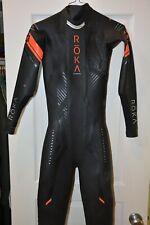 Roka Maverick X Men's Wetsuit ST Small Tall Triathlon/Swimming Black/Red