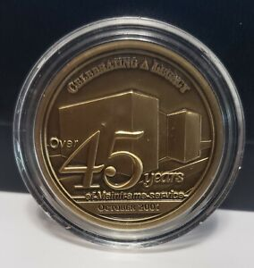 Central Intelligence Agency Celebrating A Legacy 45 Yrs Mainframe Challenge Coin