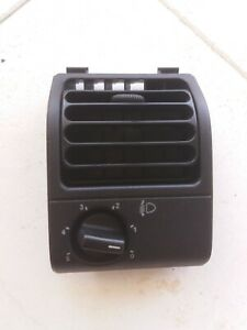 Peugeot 205 Air Duct Dash Board Vent with Regulation BLACK
