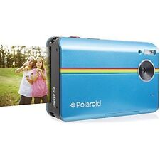 Polaroid Z2300 Digital Instant Print Camera, 10MP, 2x3 ZINK Photo Paper (Blue)