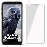 Film Blindé de Verre pour Samsung Galaxy J6 Dur Protection D' Écran