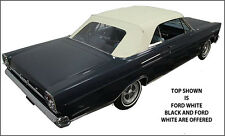 "FORD GALAXIE, MERCURY MONTEREY & PARK LANE CONVERTIBLE TOP ""DIY"" PKG 1965-1966"