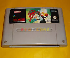 MICHAEL JORDAN CHAOS IN THE WINDY CITY Super Nintendo SNES PAL SOLO CARTUCCIA AF