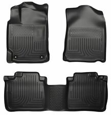 12-17 Toyota Camry Husky WeatherBeater All Weather Floor Mats Liner Black
