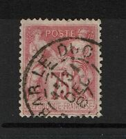 France SC# 83 - Used - Type II (Left Side Tear) - Lot 081317